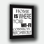products/Obraz Home Is Where Wi Fi