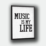 products/Obraz Music Is My Life